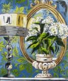 Hydrangea & Lamp